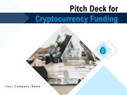 Pitch Deck For Cryptocurrency Funding Powerpoint Presentation Slides