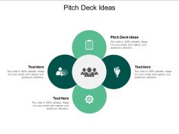 Pitch Deck Ideas Ppt Powerpoint Presentation Slide Download Cpb