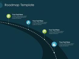 Pitch Deck Raise Funding Pre Seed Capital Roadmap Template Ppt Model