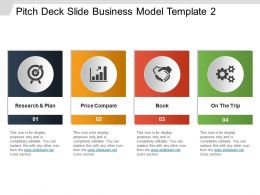 Pitch Deck Slide Business Model Template 2 Powerpoint Show