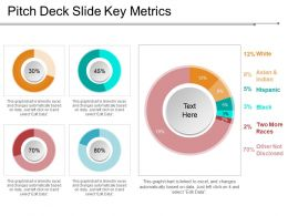 Pitch Deck Slide Key Metrics Presentation Images Presentation Layouts
