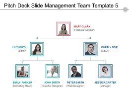Pitch Deck Slide Management Team Template 5 Sample Ppt Files