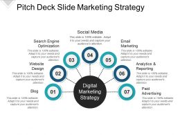 Pitch Deck Slide Marketing Strategy Powerpoint Graphics