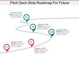Pitch Deck Slide Roadmap For Future Powerpoint Ideas