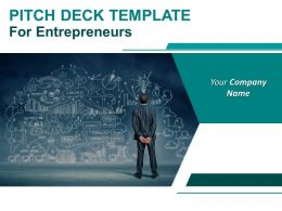 Pitch Deck Template For Entrepreneurs Powerpoint Presentation Slides