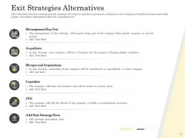 Pitch Deck To Raise Private Alternatives Liquidate Acquisitions Ppt Presentation Themes