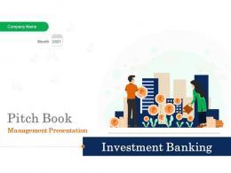Pitchbook For Management Presentation Powerpoint Presentation Slides