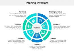 Pitching Investors Ppt Powerpoint Presentation File Inspiration Cpb