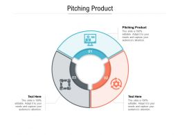 Pitching Product Ppt Powerpoint Presentation Model Background Images Cpb