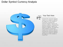 pk Dollar Symbol Currency Analysis Powerpoint Template
