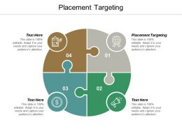 Placement Targeting Ppt Powerpoint Presentation Portfolio Master Slide Cpb