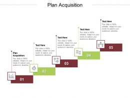 Plan Acquisition Ppt Powerpoint Presentation Outline Graphics Pictures Cpb