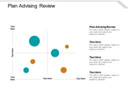 Plan Advising Review Ppt Powerpoint Presentation Styles Samples Cpb