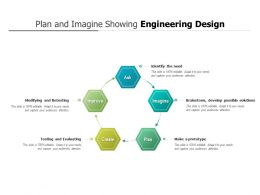 Plan And Imagine Showing Engineering Design