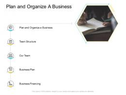 Plan And Organize A Business Company Management Ppt Graphics