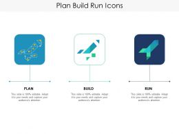 Plan Build Run Icons