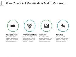 Plan Check Act Prioritization Matrix Process Capability Analysis Cpb