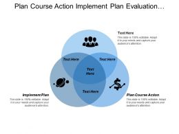 Plan Course Action Implement Plan Evaluation Planning Coordination