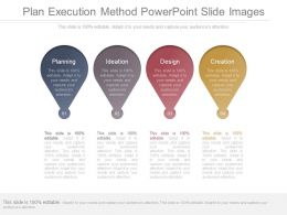 Plan Execution Method Powerpoint Slide Images