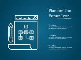 Plan For The Future Icon