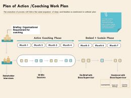 Plan Of Action Coaching Work Plan Assessments Ppt Powerpoint Background