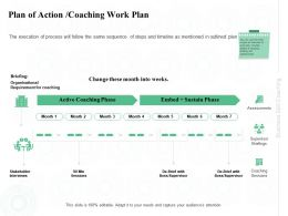 Plan Of Action Coaching Work Plan Sustain Ppt Powerpoint Presentation Pictures Vector