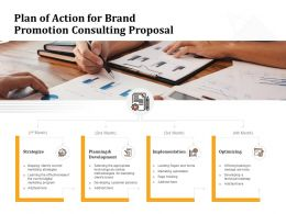 Plan Of Action For Brand Promotion Consulting Proposal Ppt Powerpoint Presentation Infographics