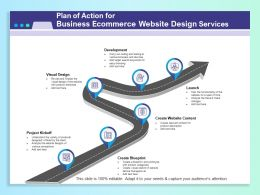Plan Of Action For Business Ecommerce Website Design Services Ppt File Elements