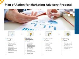 Plan Of Action For Marketing Advisory Proposal Ppt Powerpoint Summary Slide