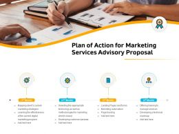 Plan Of Action For Marketing Services Advisory Proposal Ppt File Display