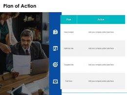 Plan Of Action Targeted Ppt Powerpoint Presentation Slides Example File