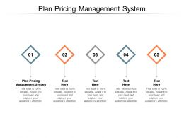 Plan Pricing Management System Ppt Powerpoint Presentation Template Cpb