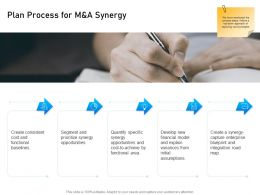 Plan Process For M And A Synergy Segment Ppt Powerpoint Presentation Outline Influencers