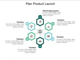 Plan Product Launch Ppt Powerpoint Presentation Gallery Samples Cpb