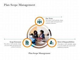Plan Scope Management Responsibilities M2486 Ppt Powerpoint Presentation Portfolio Graphics