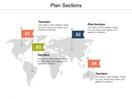 Plan Sections Ppt Powerpoint Presentation Gallery Layout Ideas Cpb