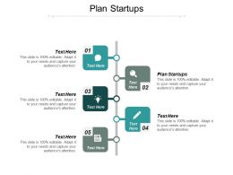 Plan Startups Ppt Powerpoint Presentation Icon Layout Cpb