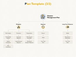 Plan Template Management Plan E80 Ppt Powerpoint Presentation Infographics Outfit