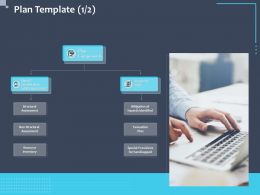 Plan Template Mitigation Ppt Powerpoint Presentation