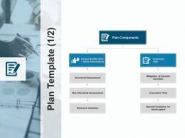 Plan Template Response Plan Evacuation Plan Ppt Powerpoint Presentation File Slide Portrait