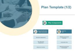 Plan Template Safety Assessment Ppt Powerpoint Presentation File Format