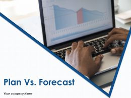 Plan Vs Forecast Powerpoint Presentation Slides