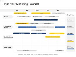 Plan Your Marketing Calendar Increase Project Ppt Powerpoint Presentation Show Graphics Template