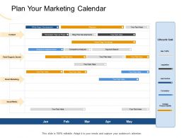 Plan Your Marketing Calendar Traffic Ppt Powerpoint Presentation Visual Aids Deck