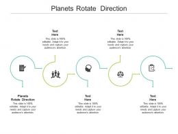 Planets Rotate Direction Ppt Powerpoint Presentation Outline Smartart Cpb