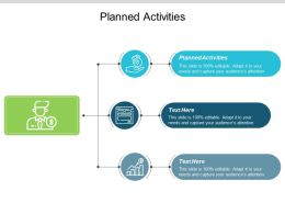 Planned Activities Ppt Powerpoint Presentation Ideas Deck Cpb