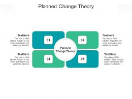 Planned Change Theory Ppt Powerpoint Presentation File Demonstration Cpb