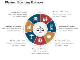 Planned Economy Example Presentation Background Images