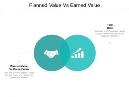 Planned Value Vs Earned Value Ppt Powerpoint Presentation Infographic Template Cpb