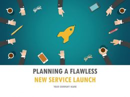 Planning A Flawless New Service Launch PowerPoint Presentation Slides